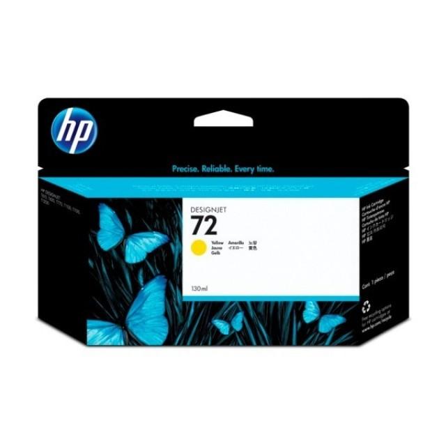 HP C9373A жълта мастилена касета 72
