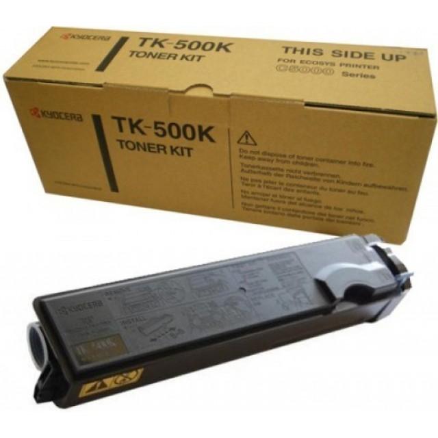 Kyocera TK-500K оригинална черна тонер касета