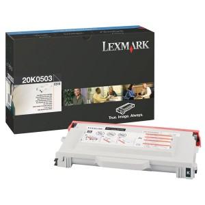Lexmark 20K0503 оригинална черна тонер касета
