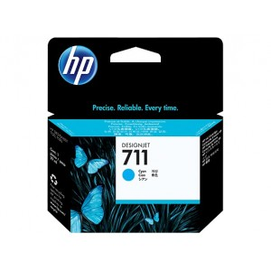 HP CZ130A синя мастилена касета 711