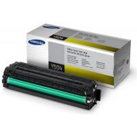 Samsung CLT-Y504S оригинална жълта тонер касета