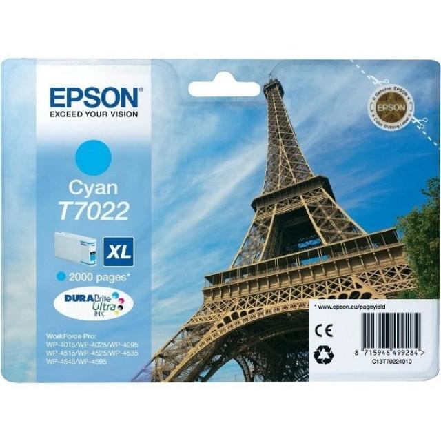 Epson T7022XL синя мастилена касета