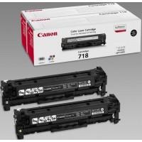 Canon CRG-718B2pk двоен пакет оригинални черни тонер касети