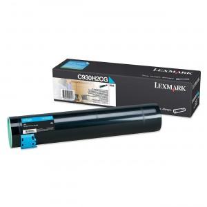 Lexmark C930H2CG оригинална синя тонер касета