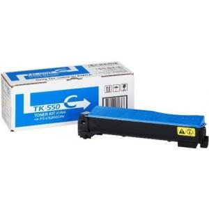 Kyocera TK-550C оригинална синя тонер касета
