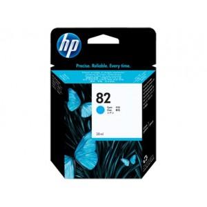 HP CH566A синя мастилена касета 82