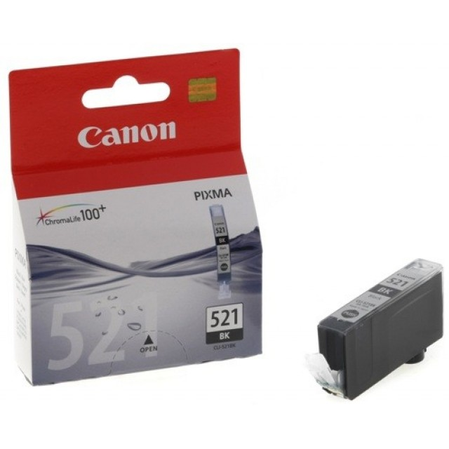 Canon CLI-521 BK черна мастилена касета