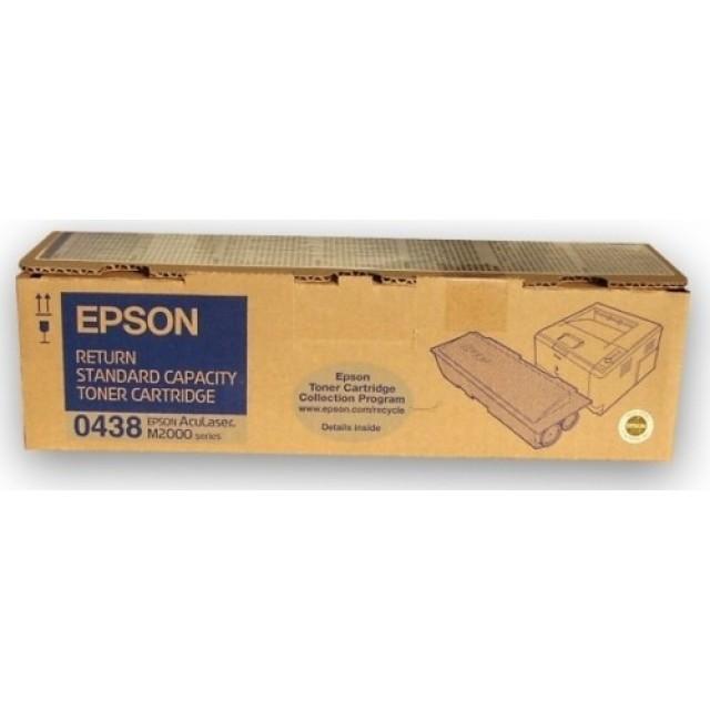 Epson C13S050438 черна оригинална тонер касета (return program)