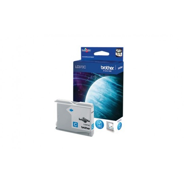 Brother LC-970C синя мастилена касета