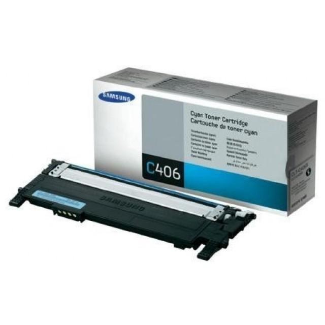 Samsung CLT-C406S оригинална синя тонер касета