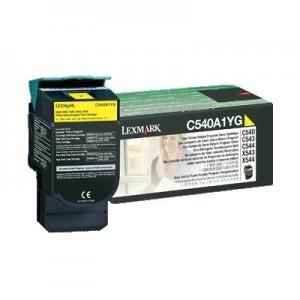 Lexmark C540A1YG оригинална жълта тонер касета (Return Program)