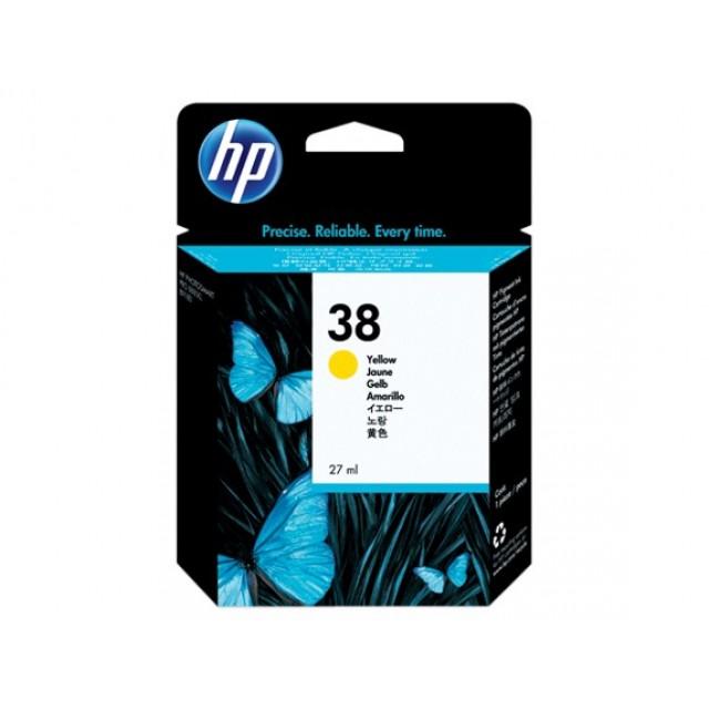 HP C9417A жълта мастилена касета 38