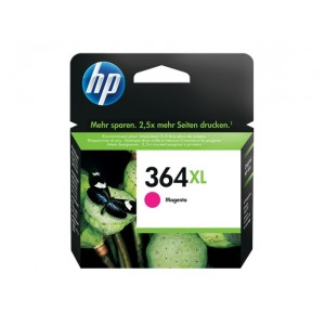 HP CB324EE червена мастилена касета 364XL