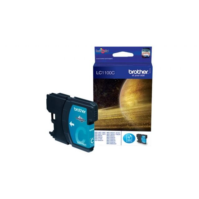 Brother LC-1100C синя мастилена касета
