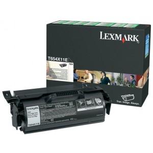 Lexmark T654X11E оригинална черна тонер касета (Return Program)