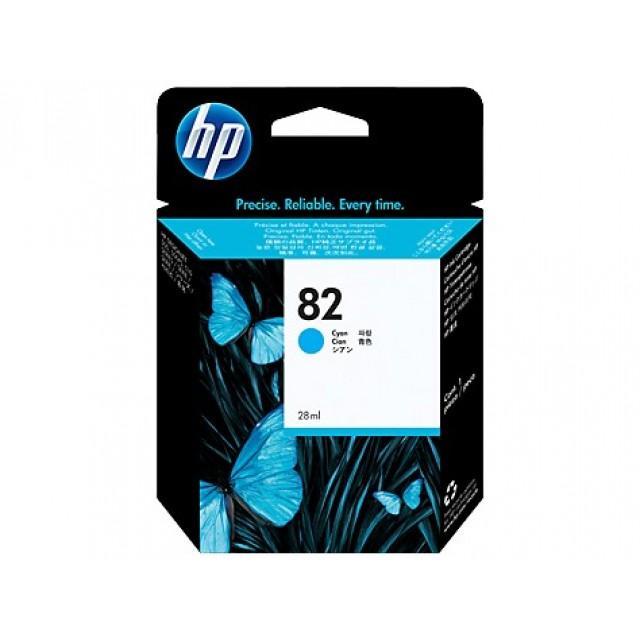 HP C4911A синя мастилена касета 82