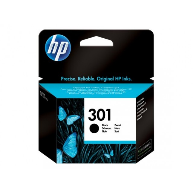 HP CH561EE черна мастилена касета 301