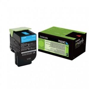 Lexmark 70C2XC0 оригинална синя тонер касета (Return Program)