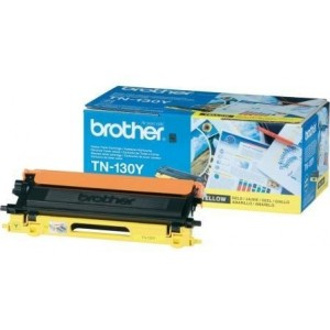 Brother TN-130Y оригинална жълта тонер касета