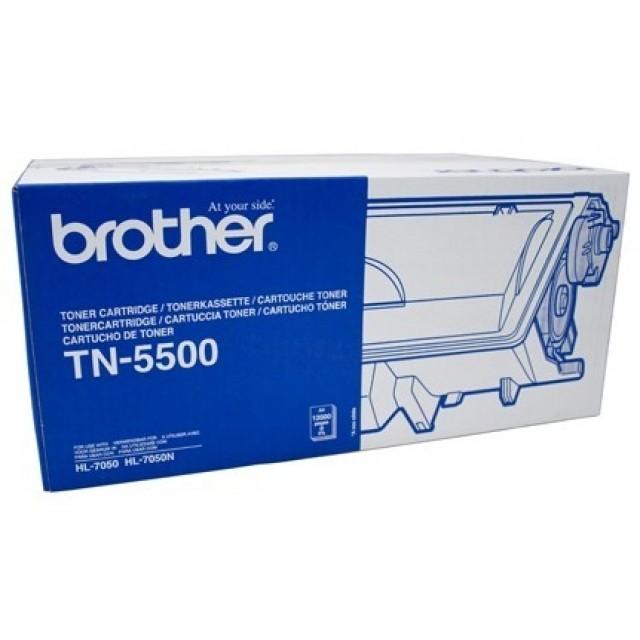 Brother TN-5500 оригинална черна тонер касета
