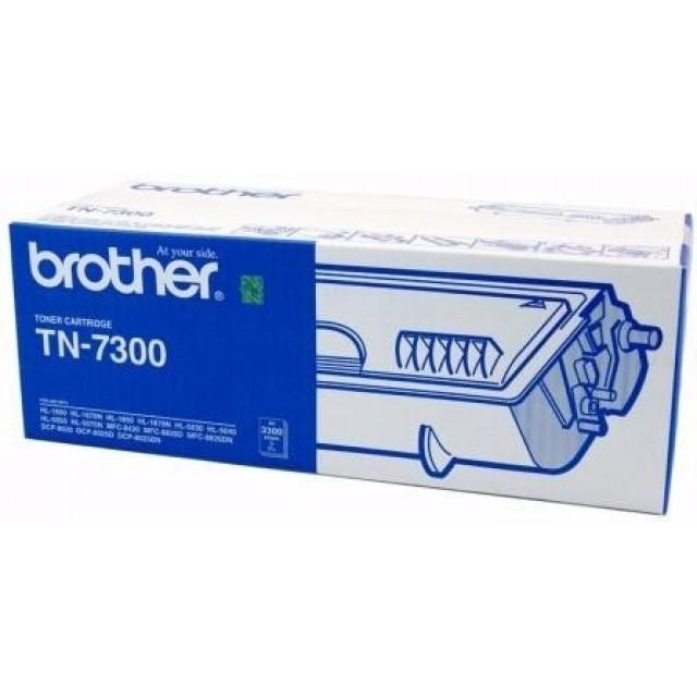 Brother TN-7300 оригинална черна тонер касета