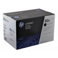 HP CF280XD двоен пакет оригинални черни тонер касети 80X