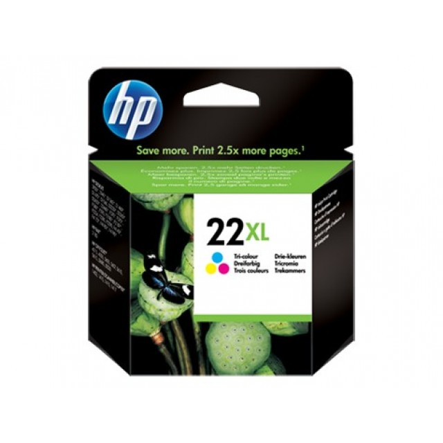 HP C9352CE трицветна мастилена касета 22XL