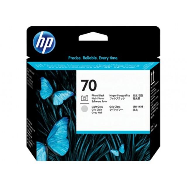 HP C9407A фото черна и светло сива печатаща глава 70