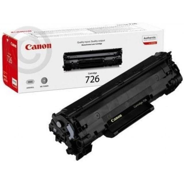 Canon CRG-726 оригинална черна тонер касета