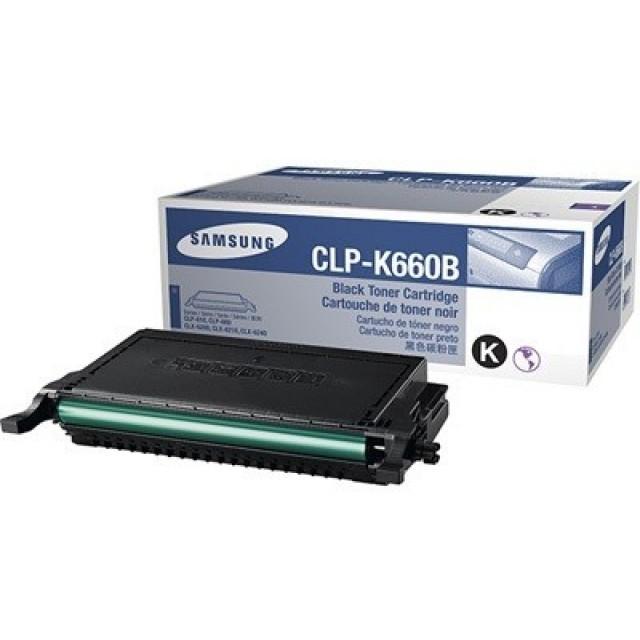 Samsung CLP-K660B оригинална черна тонер касета
