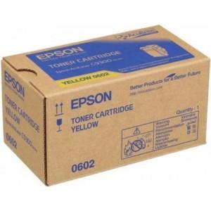 Epson C13S050602 оригинална жълта тонер касета