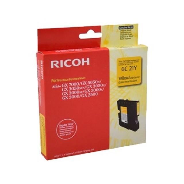 Ricoh GC21YLW жълта мастилена касета 405535