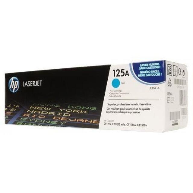 HP CB541A оригинална синя тонер касета 125A