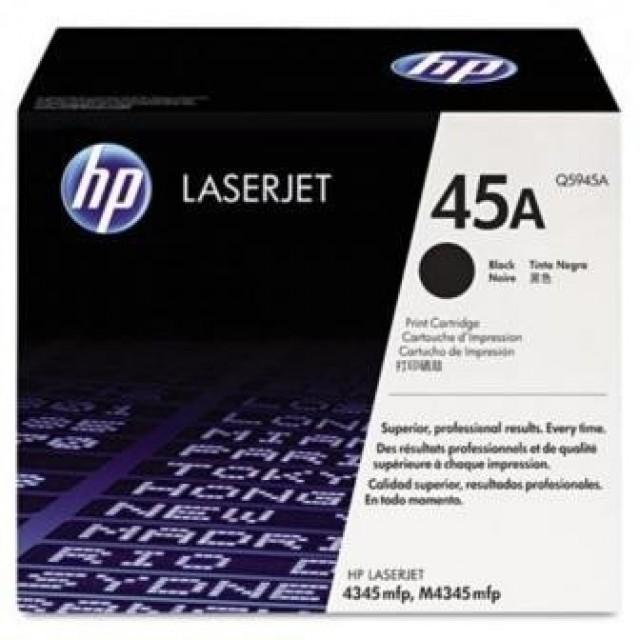 HP Q5945A оригинална черна тонер касета 45A