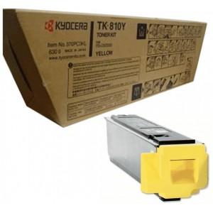Kyocera TK-810Y оригинална жълта тонер касета