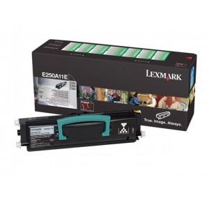 Lexmark E250A11E оригинална черна тонер касета