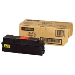 Kyocera TK-320 оригинална черна тонер касета