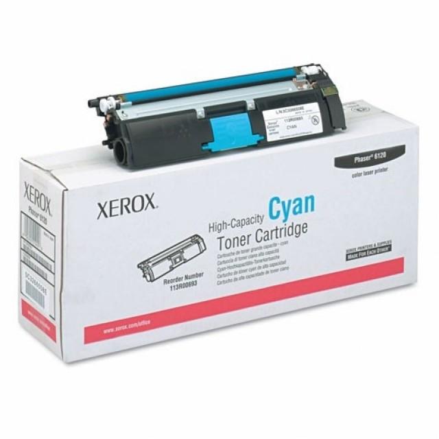 Xerox 113R00693 оригинална синя тонер касета