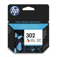 HP F6U65AE трицветна мастилена касета 302