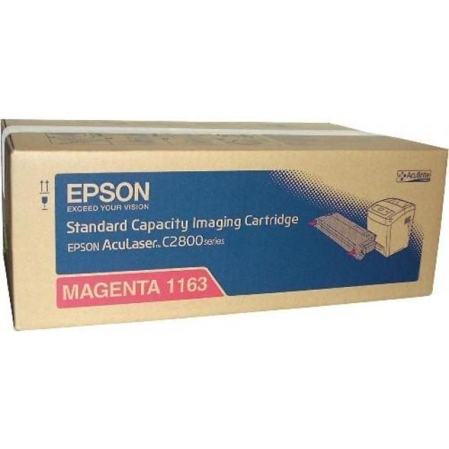 Epson C13S051163 оригинална червена тонер касета