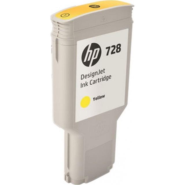 HP F9K15A жълта мастилена касета 728