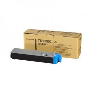 Kyocera TK-520C оригинална синя тонер касета
