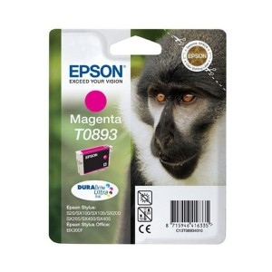 Epson T0893 червена мастилена касета