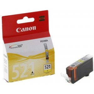 Canon CLI-521Y жълта мастилена касета