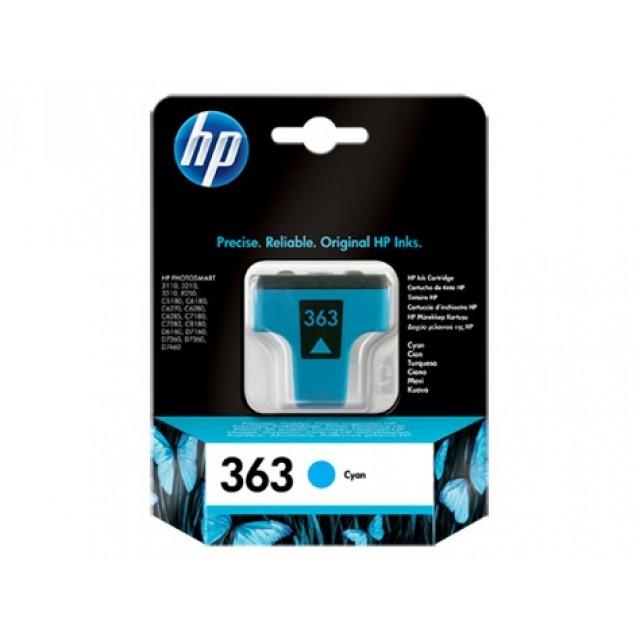 HP C8771EE синя мастилена касета 363