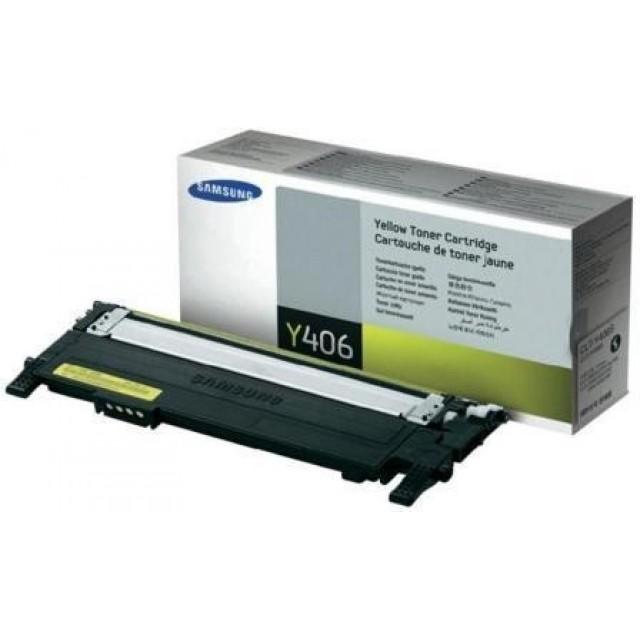 Samsung CLT-Y406S оригинална жълта тонер касета
