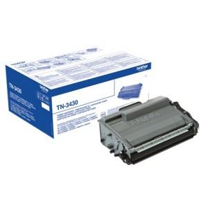 Brother TN-3430 оригинална черна тонер касета