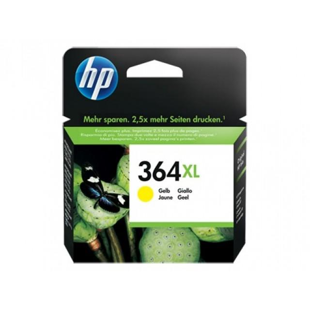 HP CB325EE жълта мастилена касета 364XL