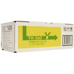 Kyocera TK-560Y оригинална жълта тонер касета