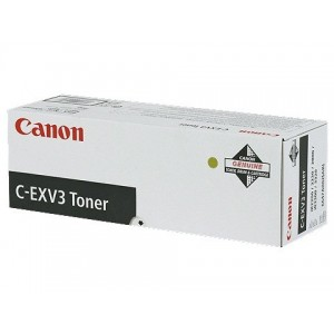 Canon C-EXV 3 оригинална черна тонер касета